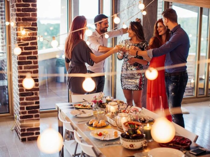 party tips and ideas for a new homebuyer